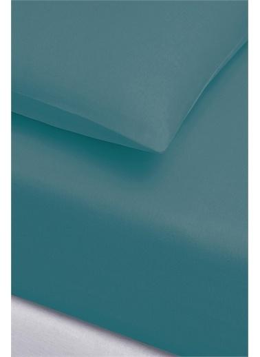 İyi Geceler İstanbul Fitted Çift Kişilik Çarşaf Set - 160X200 - Petrol Mavi Mavi